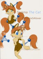 :.Serena The Cat.: by PhoenixSAlover