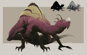 RANDOM CREATURE DESIGN by MichaelBills