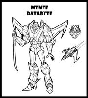Databyte lines by Laserbot