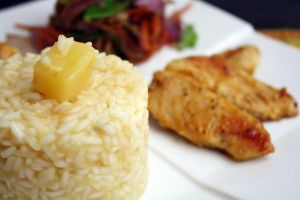 Tropical Chicken, Rice 5 by laurenjacob