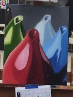 Colour Study of Vases by cldennis12