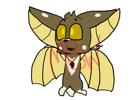 Bat Adopt (OPEN, PRICE LOWERED) by MBWAdopts