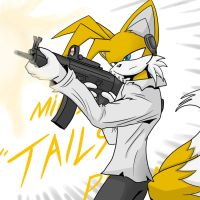 Miles ' Tails' Prower by oLEEDUEOLo