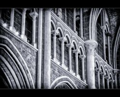 Cathedral of Lausanne V by calimer00