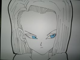 Android 18 by supervegita