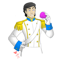 Disney Princes: Eric by tsukinoyagami