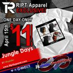 Jungle Days One Day Sale On Ript Apparel! by SEspider