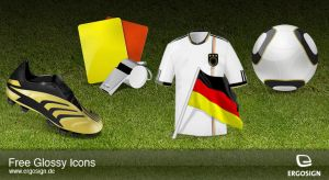 Icons for Soccer Worldcup 2010 by ergosign