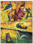 Smoked out page 2. Art by me colors by EvilFranco by UltimateRubberFool