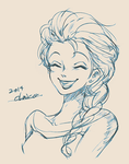 elsa by chacckco
