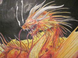 Smaug by kennyfrikkindied