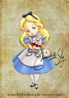 Child Alice by MoonchildinTheSky