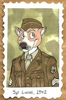 1940's Badges -- Lucas by Geistlicher