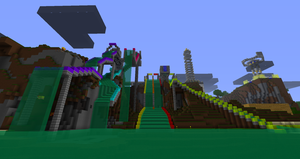 Acid-Nation waterpark by AcidicTaco