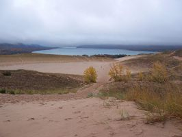Sleeping Bear Dunes - Glen Lake by asukouenn