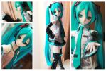 Arrival of my Volks Official Hatsune Miku Dollfie! by SpicaRy