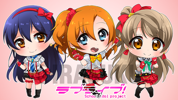 Love Live second year by irask