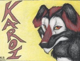 Karoi Badge by kcravenyote