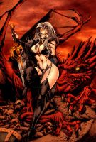Lady Death by MCornelius by StephenSchaffer