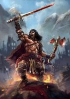 Conan the Barbarian Fan Art Contest by largee17