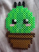 Baby Cactus by PerlerHime