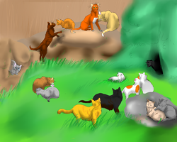 ThunderClan by Flimingow