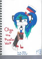 Olga the Wolf by Sasha-the-Hedgie