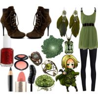Fem!Poland's outfit by epicperson87