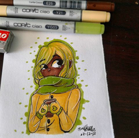 3 marker Challenge [otra vez] by Useless--Chan