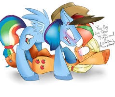 Dash Seems Happy by Redshycup