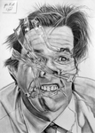 Jim Carrey / Yes man by pencilir