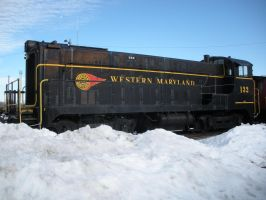 Western Maryland No. 132 by rlkitterman
