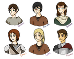 Dragon Age OC Busts by Shanoon8