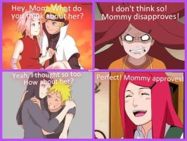 If Kushina were given a say.. by scarshadowstalker34