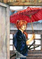 Rurouni Kenshin- Halfway Home by GuiltyOne
