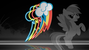 (Rainbow Dash) Wallpaper set 2/6 by ThePunkyRabbid