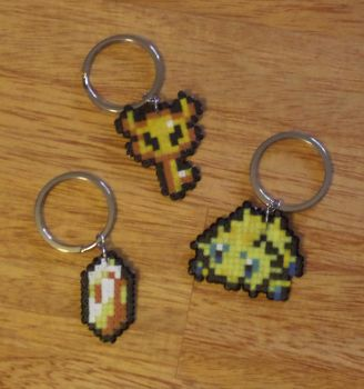 Keychain Commission: Code Yellow! by PracticallyGeeky
