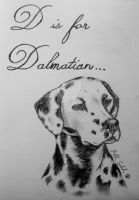 D is for Dalmatian by ForeverCanine