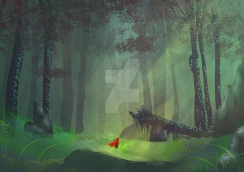 Into The Woods by DragonicPrincess