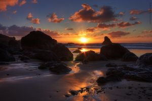 Indian Beach - Oregon by pyro303