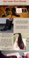 Red Queen Boots Tutorial by CalamityJade