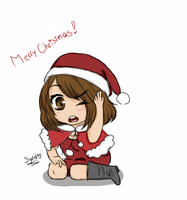 Merry Christmas! (new avatar) by Llama-Syndrome
