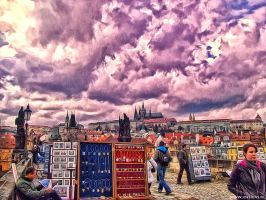 HDR Prague Bridge by jdesigns79