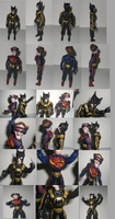 BATWOLV and SUPACLOPS  collage by ztenzila