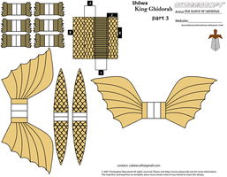 Showa King Ghidorah part 3 by theSwordofRainbows