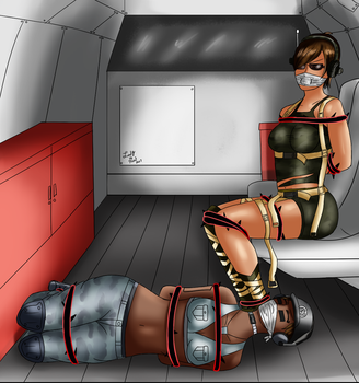Captured in Transit (Commission) by Lady-of-Mud