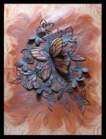 Leafy Butterflies by cocooned