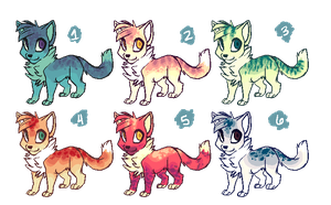 Chibi Kitties Adopts [ OPEN 5/6 ] by Sundrii