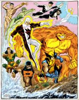 alpha flight por john byrne by namorsubmariner