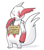 Pokemon Shaming: Zangoose by theIggyness